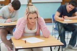 Panicking in exam