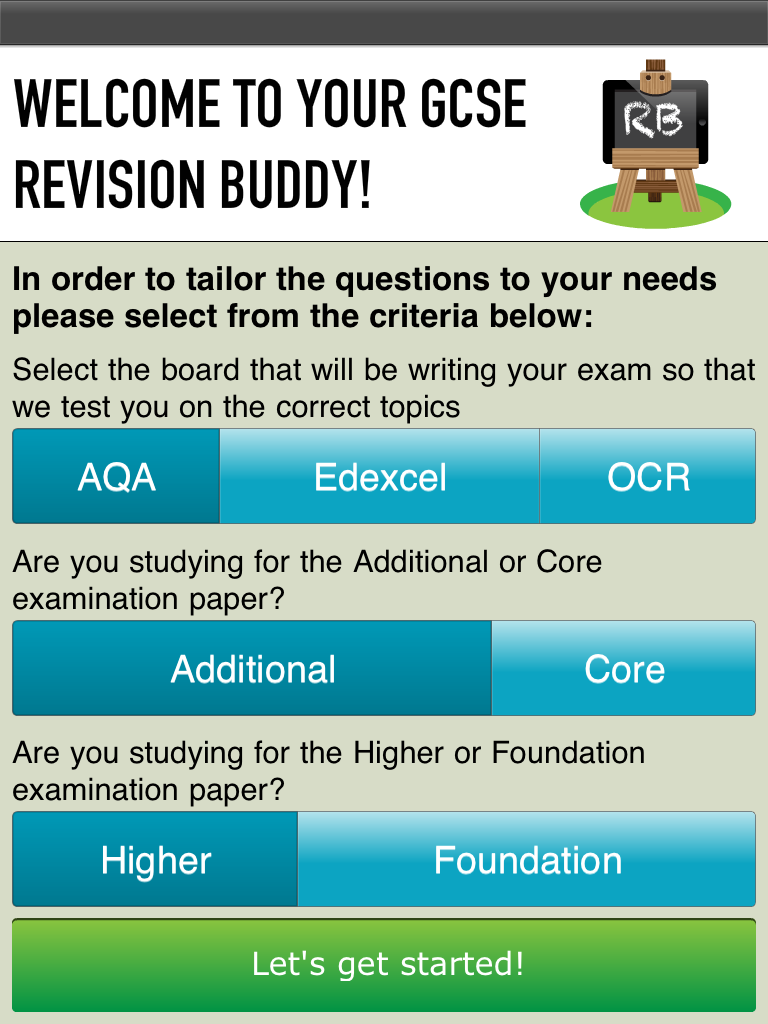 GCSE Revision Apps - Revision Buddies