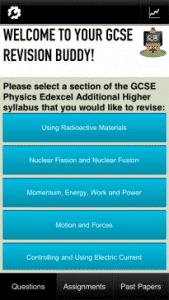 Revision Buddies Physics App